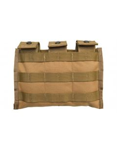 New GI USMC Coyote M4 Three Mag Side by Side Pouch