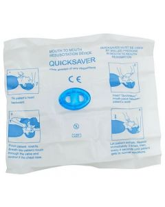 QuickSaver CPR Face Shield 2 Pack