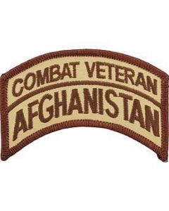 Afghanistan Combat Veteran Patch