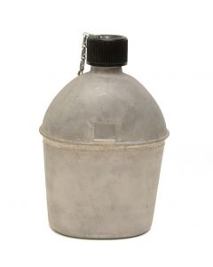 New GI WWII Stainless Steel Canteen with Seam