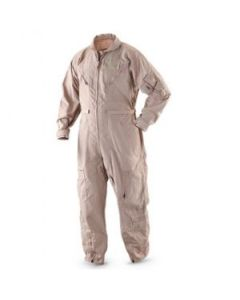 GI Tan Aramid Coverall Flight Suit Irregular