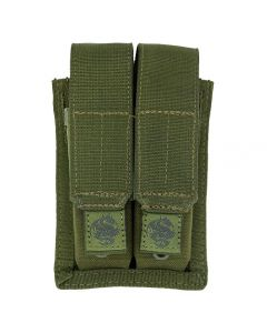 TacProGear Double Pistol Mag Pouch OD