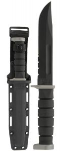 KA-BAR D2 Extreme Fighting/Utility Knife With Hard Plastic Sheath