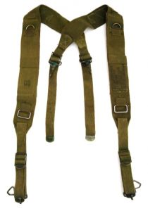 GI Experimental 1951 Field Pack Suspenders Cargo and Combat