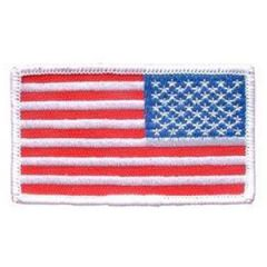 Patch-Flag USA,Rect.White (Right Arm)