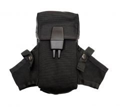 US Made Black M16 AR15 Ammo Pouch With Grenade Wings Modified