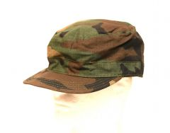 GI Woodland 100% Cotton Ripstop BDU Map Pocket Hat