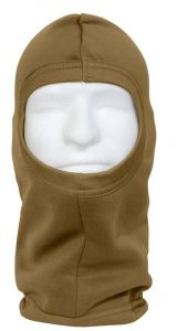 Brown Military Style Polypro Balaclava Face Mask