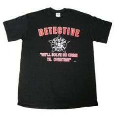 Chicago Police Detective T Shirt