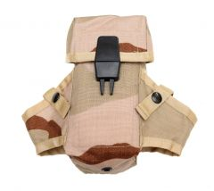 US Made 3 Color Desert Camo M16 AR15 Ammo Pouch With Grenade Wings