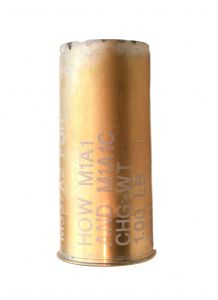 GI 75mm HOWITZER M1A1 Empty Shell