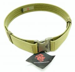 TacProGear Military Style Web Belt OD Green