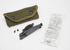 GI M15 Grenade Launcher Sight and Canvas Pouch