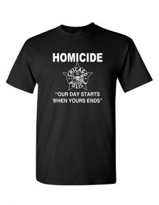 Chicago Police Homicide T-Shirt
