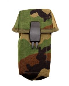 US Made Woodland Camouflage M16 AR15 Ammo Pouch