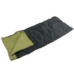 Open Sleeping Bag with Green Lining