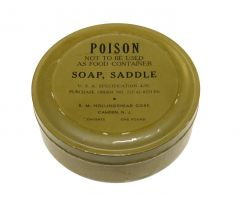 GI WWII Saddle Soap One Pound Can Type 2