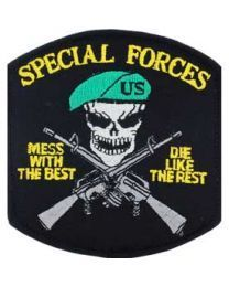 Special Forces Mess with the Best Patch