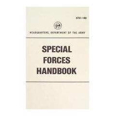Special Forces Handbook Manual ST31-180
