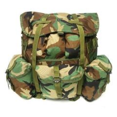 US Made Large Woodland Camo ALICE Pack New