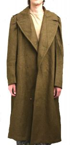 GI WWII Enlisted Men's Wool Coat No Buttons