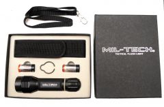 Mil-Tech Z6/19 Tactical Flashlight with Remote Pressure Switch